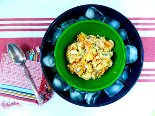 Sweet and Yukon Gold Potato Salad
