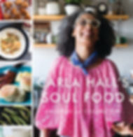 Celebrity Chef Carla Hall authors bestselling Soul Food Cookbook nominated or NAACP Image Award