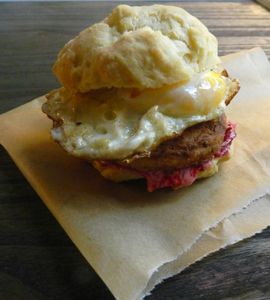Black Friday Breakfast Biscuit - Yummy