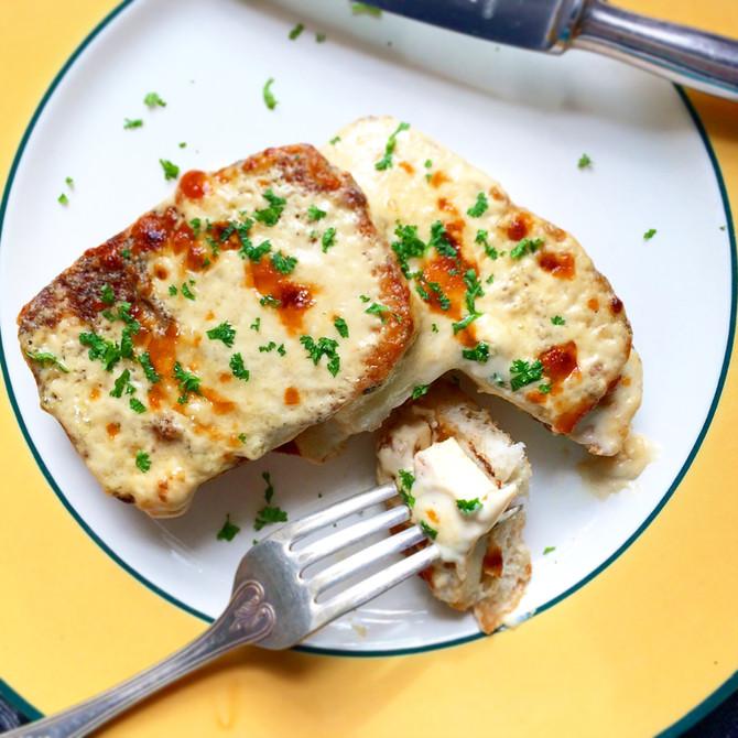 Toasted Tofu Alfredo