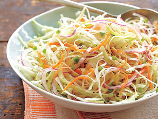 Tangy Hot Cabbage Slaw