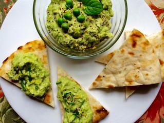 Fava Bean & Spring Pea Hummus