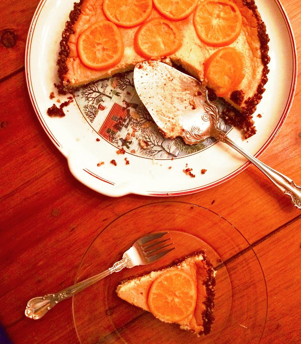Fresh Citrus Tart with a Gingersnap Crust