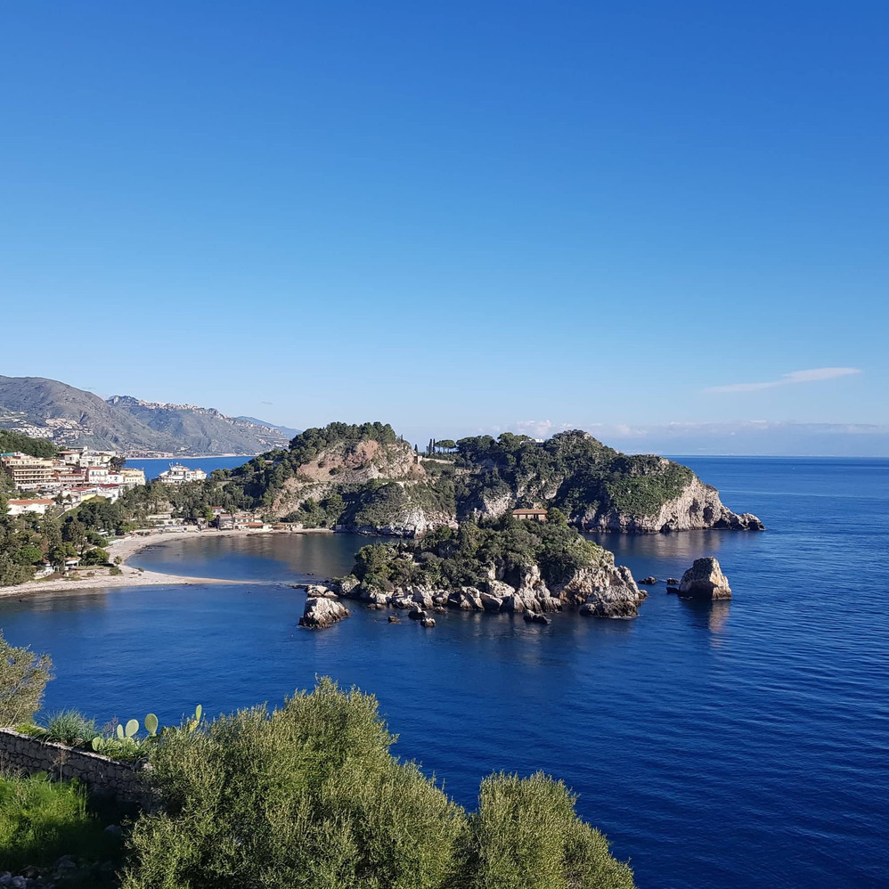 Taormina-Isola bella