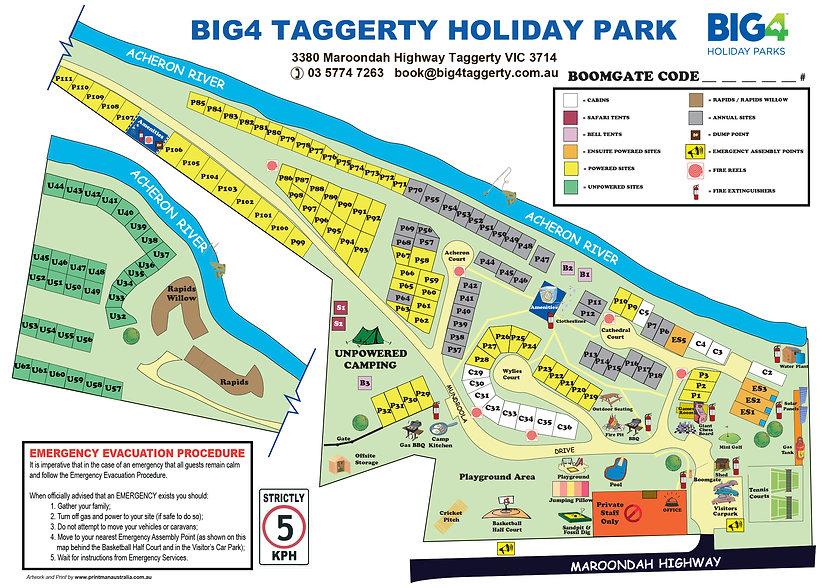 BIG4 Taggerty Park Map.jpg
