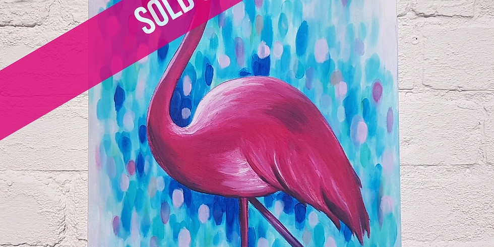 ART SIPPERS - Rodrigo The Flamingo