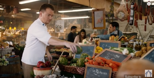 Celebrity Cruises 'Marco Polo' commercial. This was a French market I got to create.
