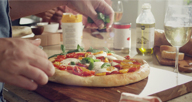 This is a still captured from a commercial we did for Publix