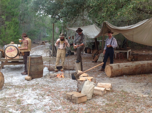 This was a set we created for a Leinenkugals commercial. It was a period lumberjack camp. This was ridiculously fun to dress and decorate!
