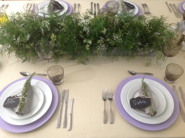 From a St. Vincent Hospital commercial shoot...we created a dinner scene for a family and this is a detail from that scene
