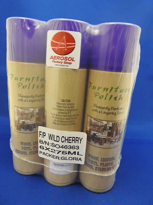 6xFurniture Polish Wild Cherry