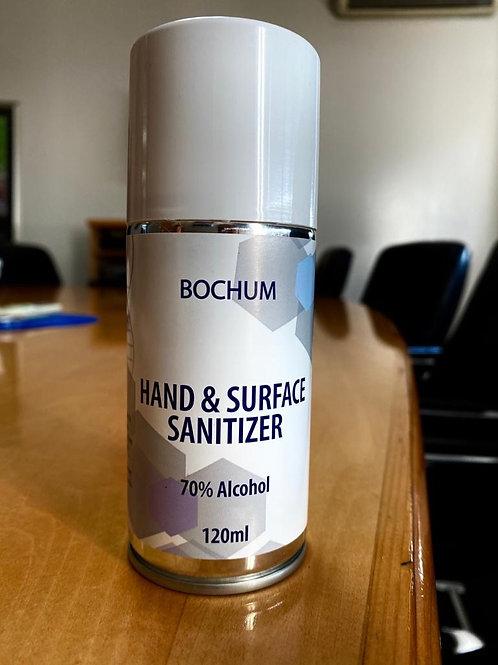 120ml aerosol hand sanitizers