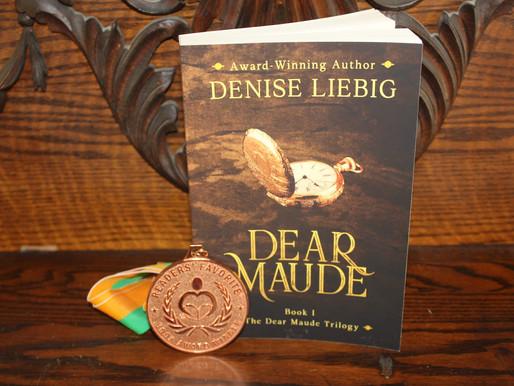 Dear Maude Wins Bronze Medal!