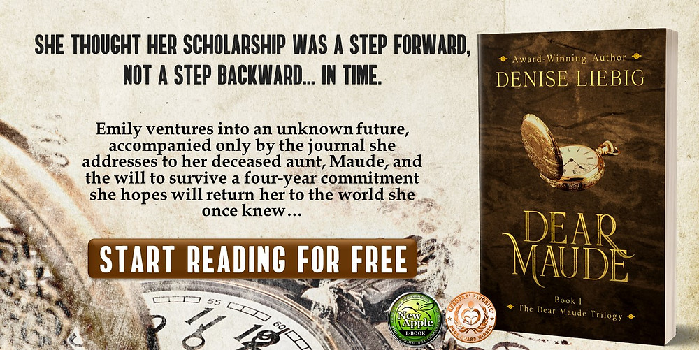 Dear Maude, Free e-book, time travel romance