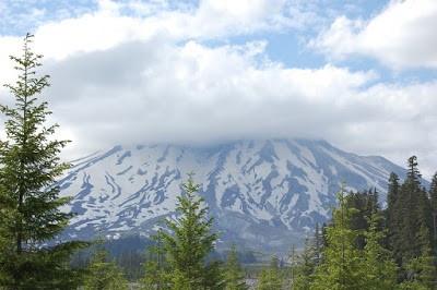 Photo of Mt St Helens, Washington