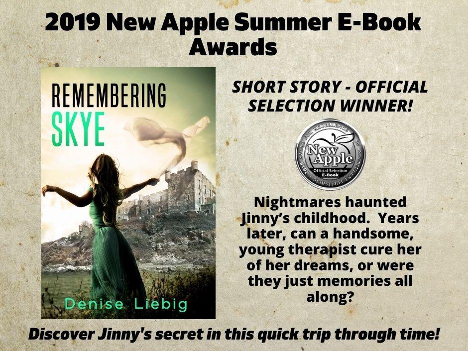 2019 New Apple Summer E-book award winner, Remembering Skye