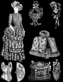 Time travel clothing, Dear Maude, historical fantasy