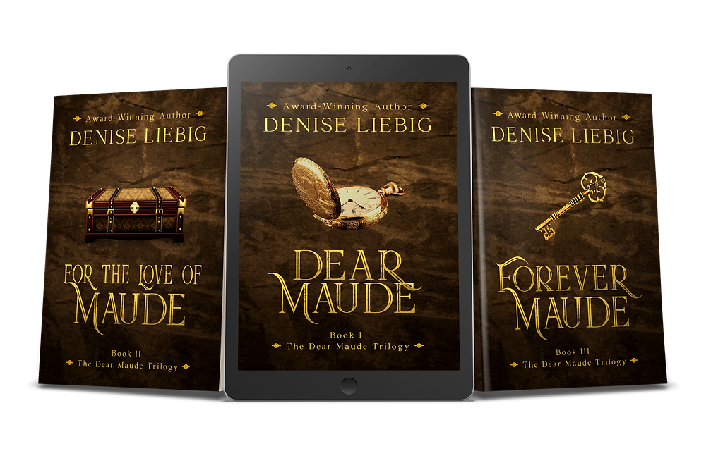 The Dear Maude Trilogy, time travel romance