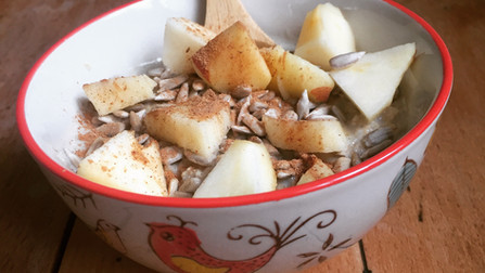 Recette : le porridge d'automne