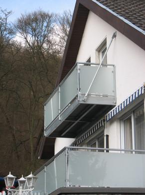 Balkonkonstruktion als nachträglicher Anbau