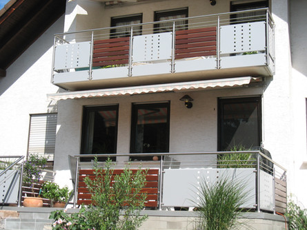 Balkon, Terrassen- und Treppengeländer