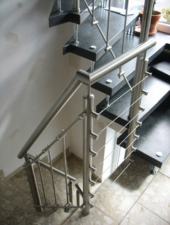 Modernisierung Treppenhaus und Geländer