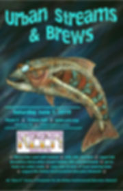 Urban Streams and Brews poster 2019 fina