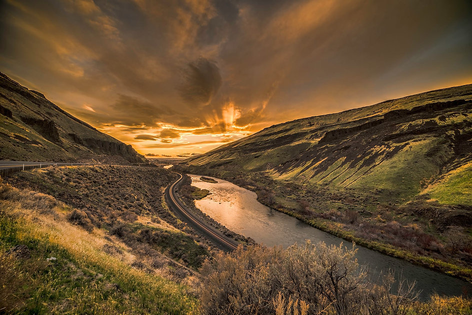 Lower Yakima River Canyon Scenic Byway -
