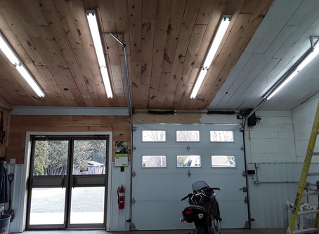 WORKSHOP RENOVATIONS - PART 3 - WIRING AND ELECTRICAL UPGRADES