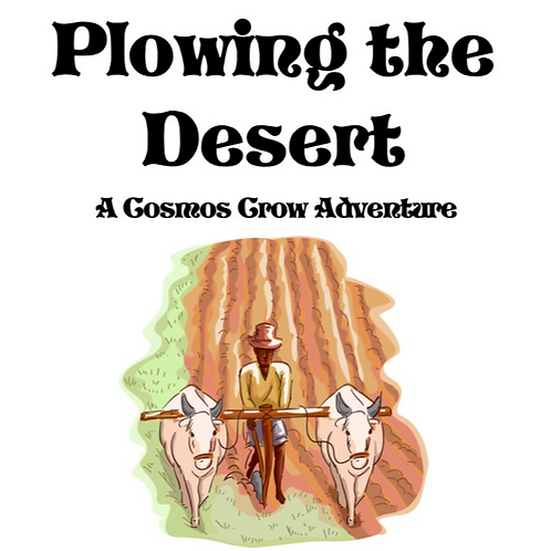 Plowing the Desert