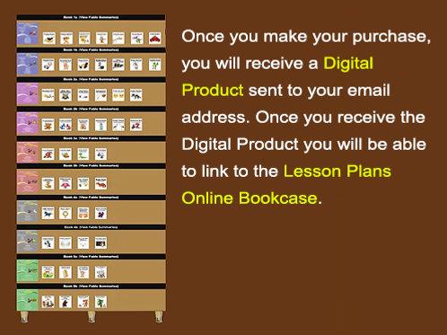 50-Fable Lesson Plan Bookcase