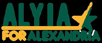 Alyia for Alexandria logo.png