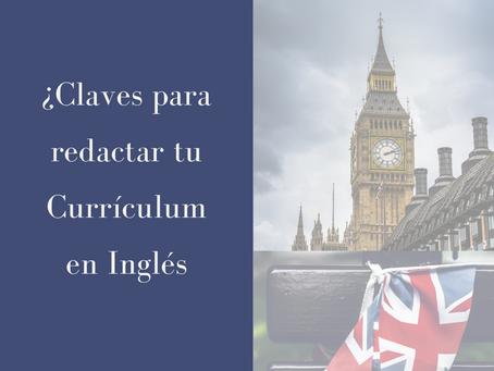 ¿Cómo escribir tu Currículum en Inglés?