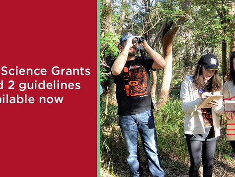 Citizen Science Grants – Round 2 announced