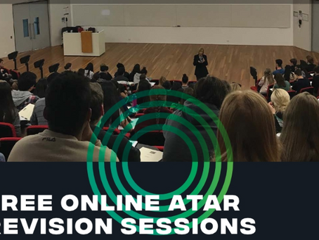 FREE ATAR Revision for Year 12 STEM students!