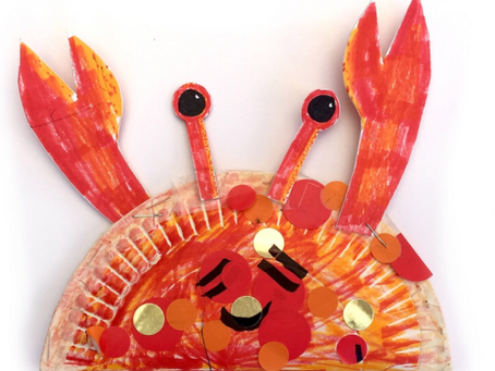 Crazy crays and speccy starfish crafts!