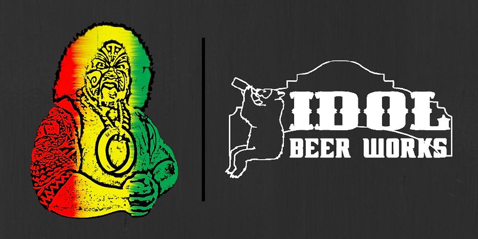 TAIMAANAO Manunu + Idol Beer Works