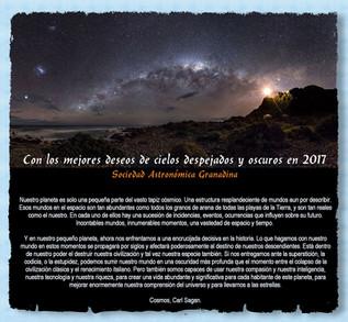 Alcancemos todas las estrellas, todos los cielos en 2017