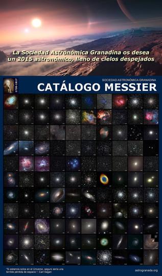 Feliz 2015 y Catálogo Messier