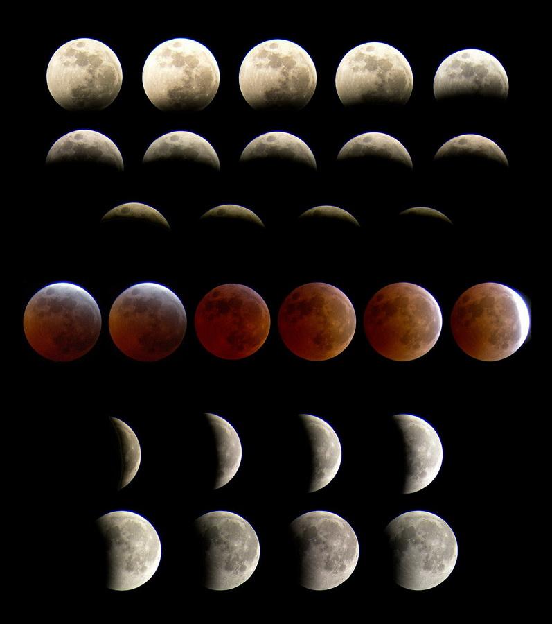 Montaje eclipse total el 3/3/2007