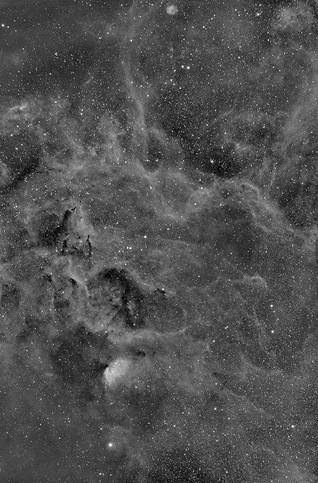 Nebulosas Ngc 6881, 6871 y 6883