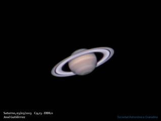 Saturno, 5 de mayo de 2013