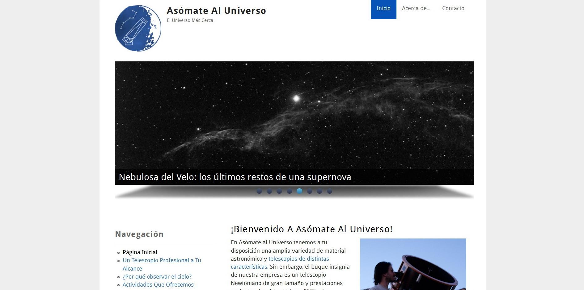 Asomate al Universo