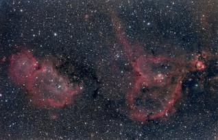 Nebulosas del Velo, Corazón y Alma