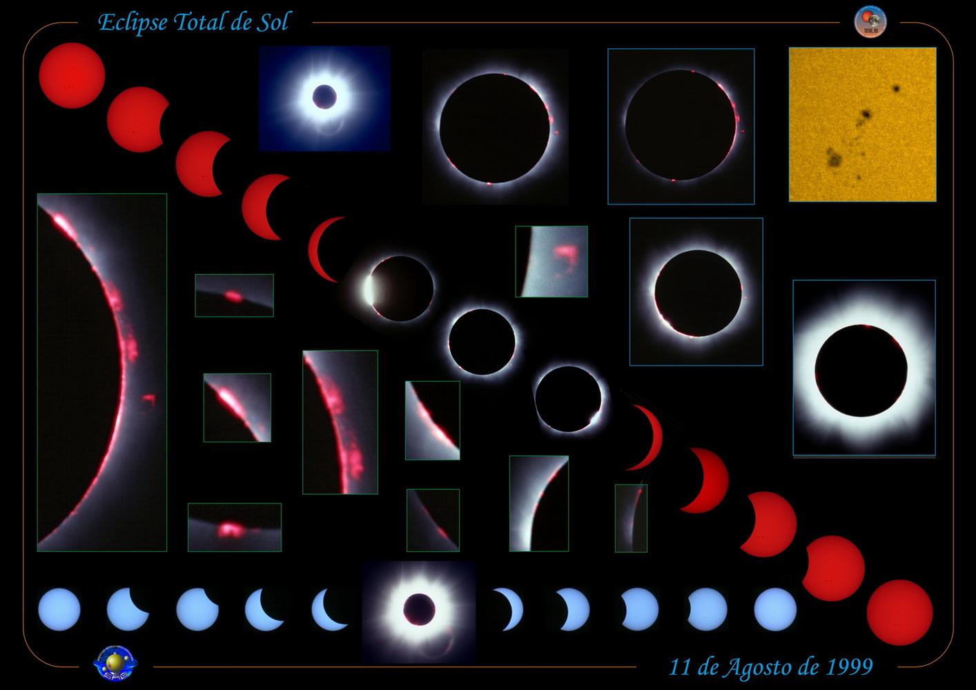 Eclipse total de Sol - 11, ago. 1999