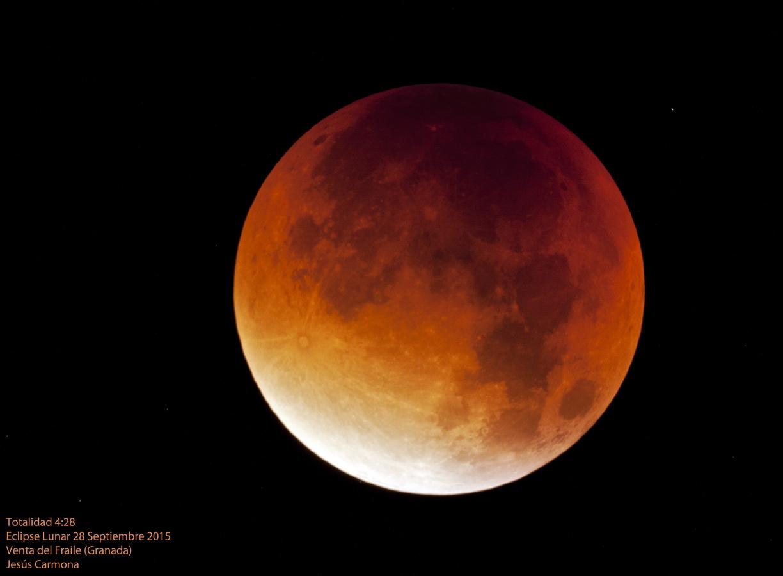 Eclipse total de Luna 28/09/2015