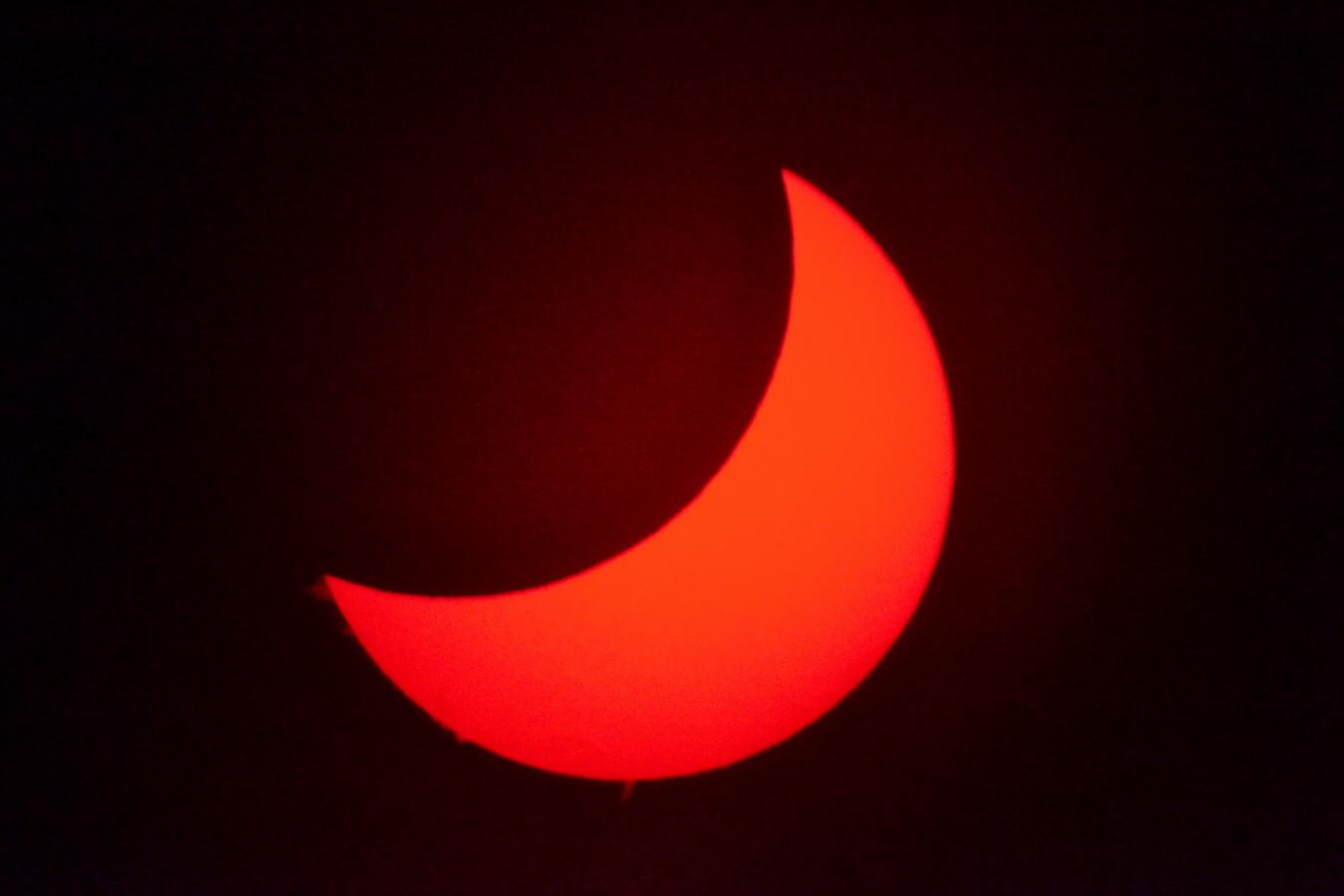 Eclipse parcial de Sol del 20/3/2015