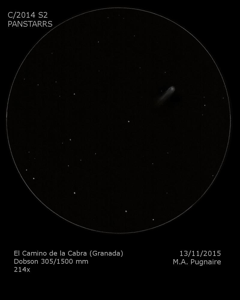 Cometa 2014 S2 Panstarrs
