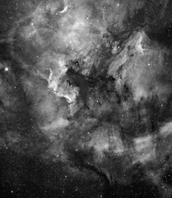 Nebulosa Norteamérica y el Pelicano