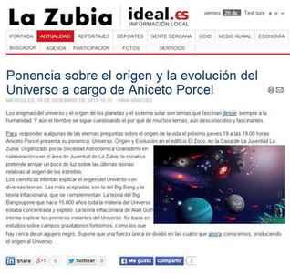 UNIVERSO: Nacimiento y evolución
